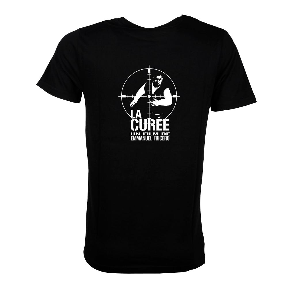 T shirt la curee fricero films for Film noir t shirts