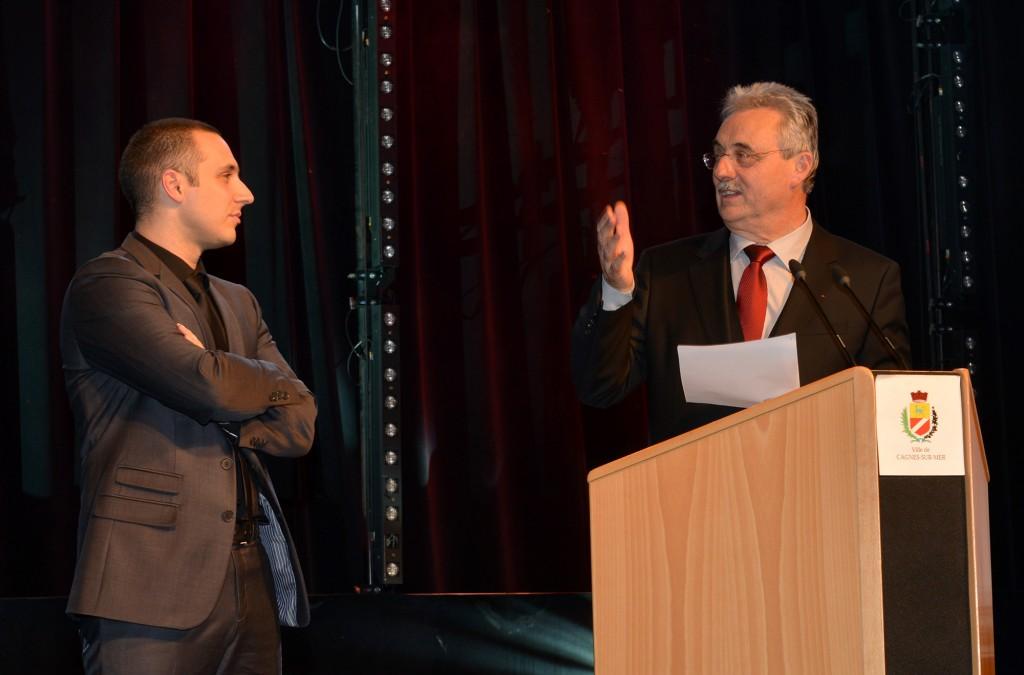 Emmanuel Fricero et Louis Negre (Médaille de la ville 2015)sd3