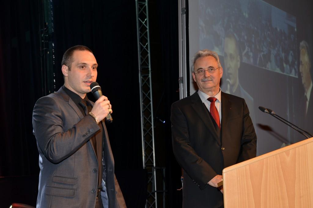 Emmanuel Fricero et Louis Negre (Médaille de la ville 2015)sd4