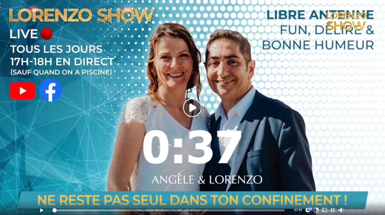 LorenzoShow VIP - 19/04/2020