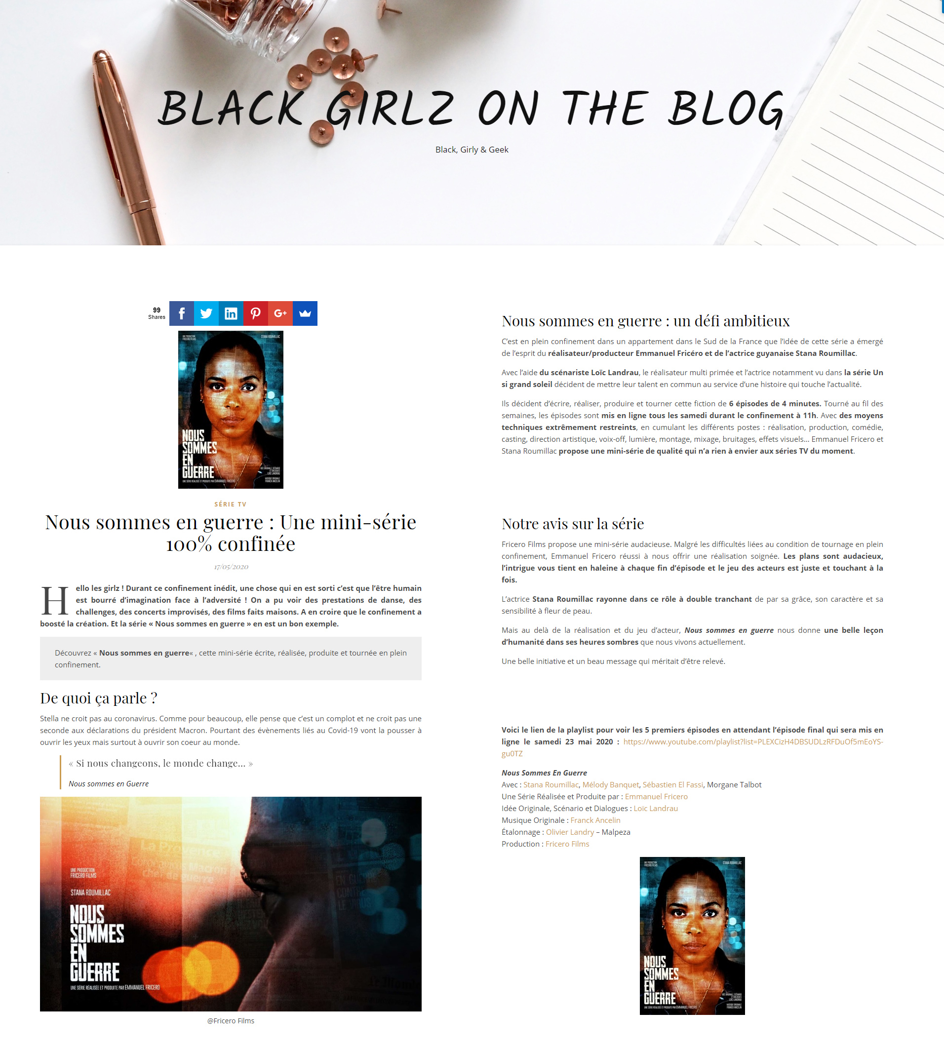 Black Girlz On The Blog