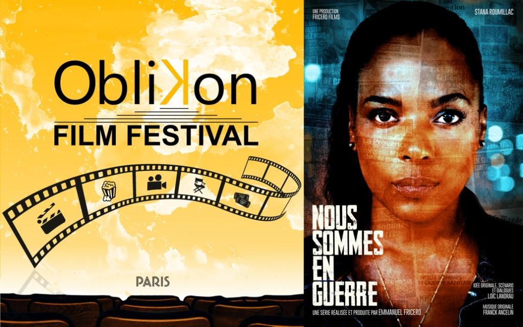 Sélection Officielle à l'Oblikon Film Festival de Paris