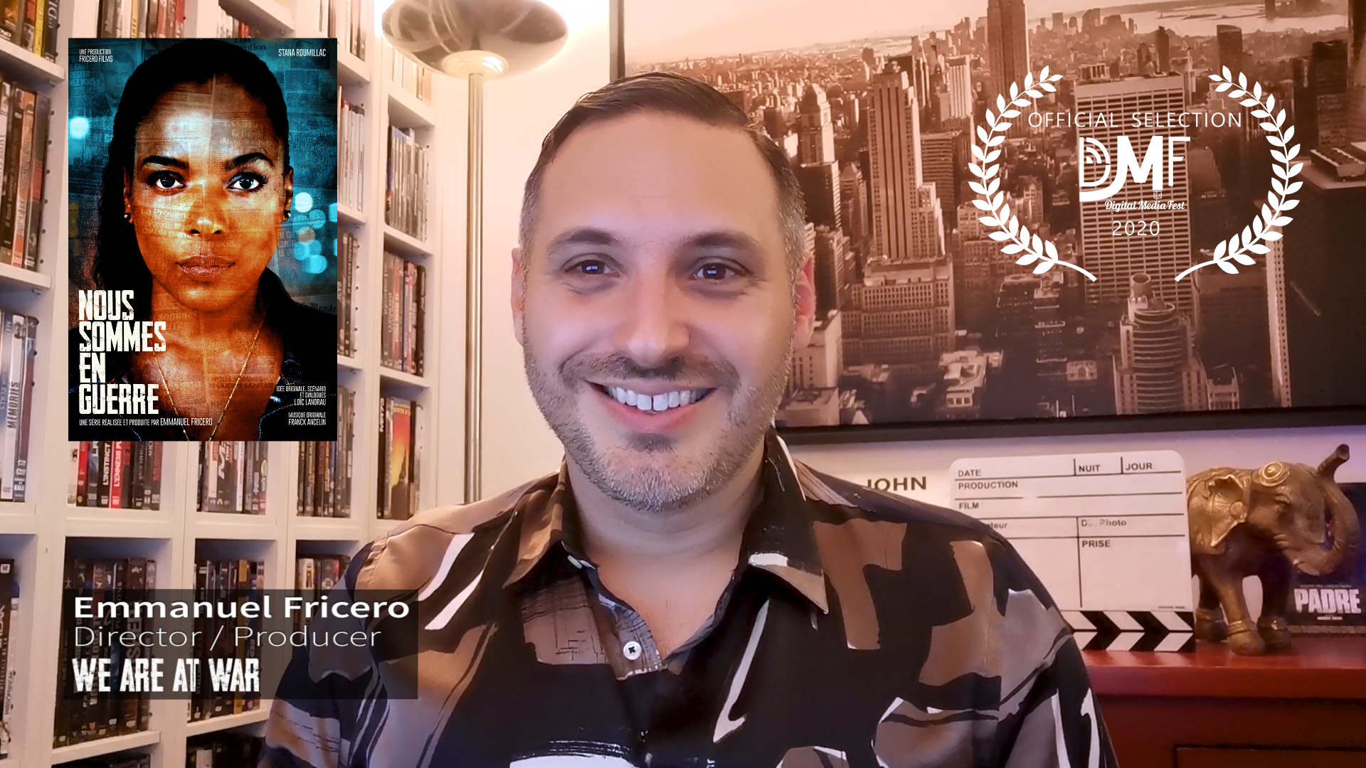 Présentation de la série par le Réalisateur au Digital Media Fest