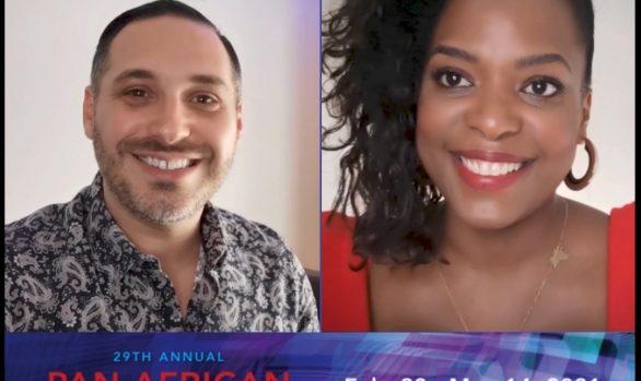 Présentation de la série par le réalisateur et l'actrice principale au Pan African Film Festival de Los Angeles