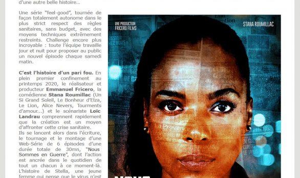 """Art Côte d'Azur : 5ème récompense pour la série """"Nous Sommes en Guerre"""" du cinéaste Azuréen Emmanuel Fricero"""