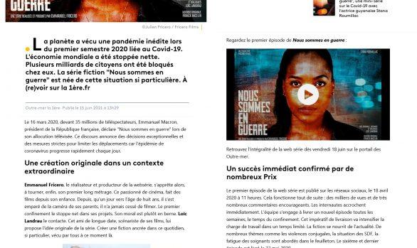 «Nous Sommes en Guerre» débarque… sur France Télévisions !