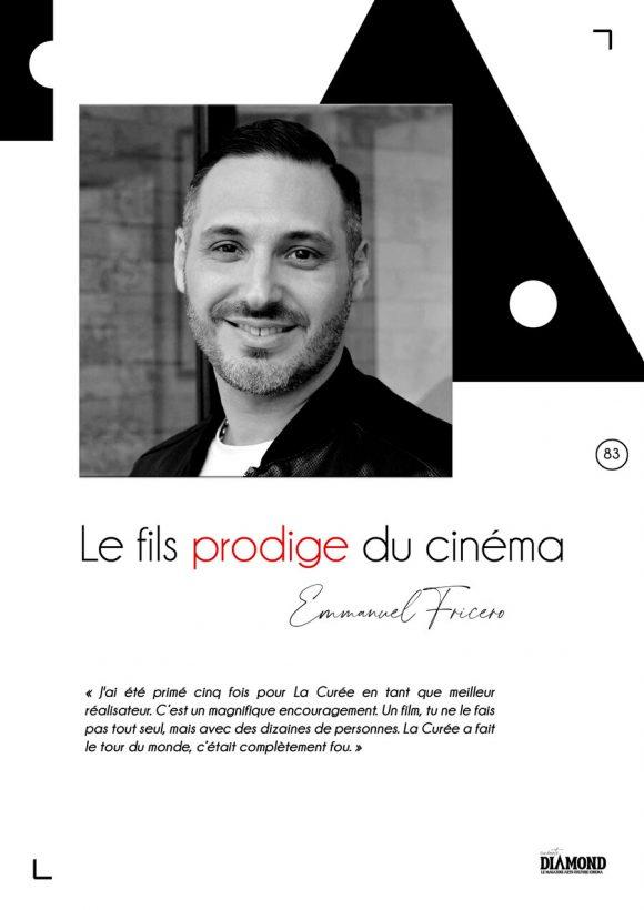 « Emmanuel Fricero, fils prodige du cinéma »