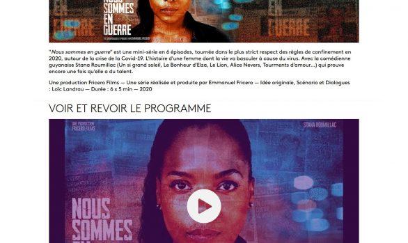 « Nous Sommes en Guerre » à voir sur « La 1ère » le portail des Outre-Mer de France Télévisions !